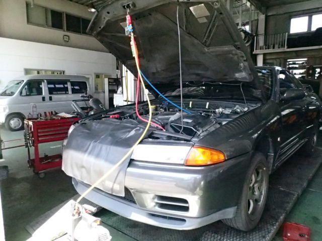 R32エアコン故障?修理?R32スカイラインの持病に最新の裏技修理法!