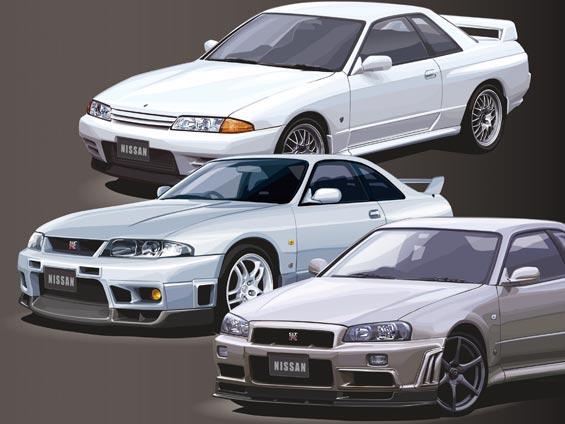 スカイライン GT-R 性能の違いを比較!