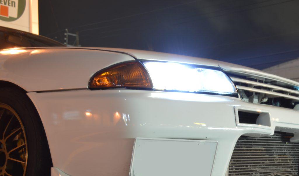 R32 ヘッドライトどのプロ目?角目?どの目が好き?検証してみよう!